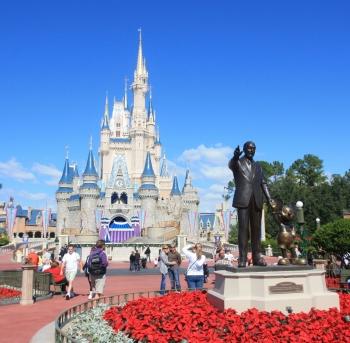 castle magic unido en disney world en orlando