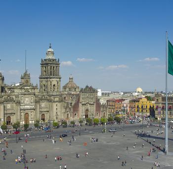 zocalo en ciudad de mexico