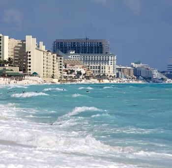 playa en cancun