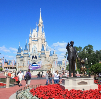 castle magic unido en disney world en orlando