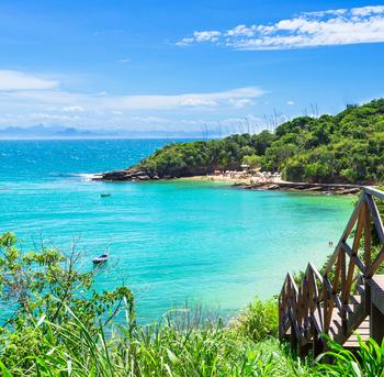 playa azeda en búzios, río de janeiro brasil