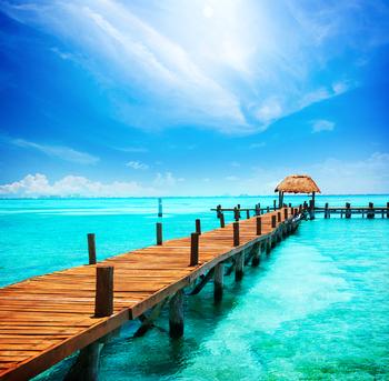 embarcadero en isla mujeres, cancún