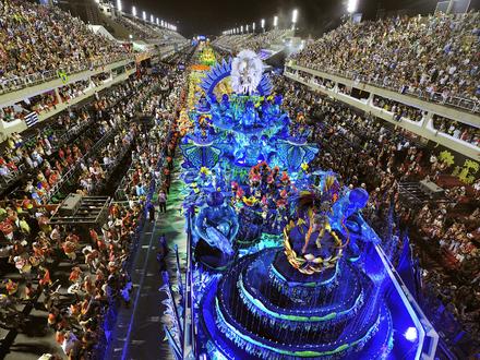 Disfruta del Carnaval de Rio de Janeiro