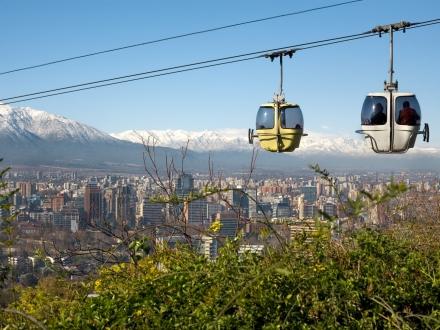 Planes a Santiago de Chile